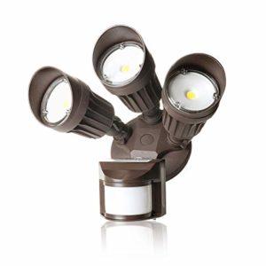 LED Security Light 3 Head