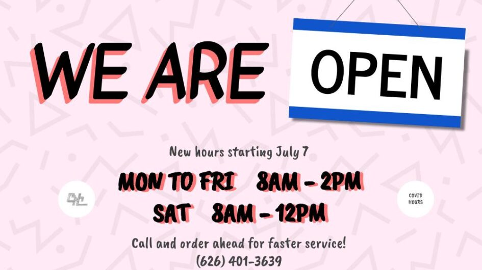 CNC is open Monday to Friday 8 am to 2 pm and Saturdays 8 am to noon