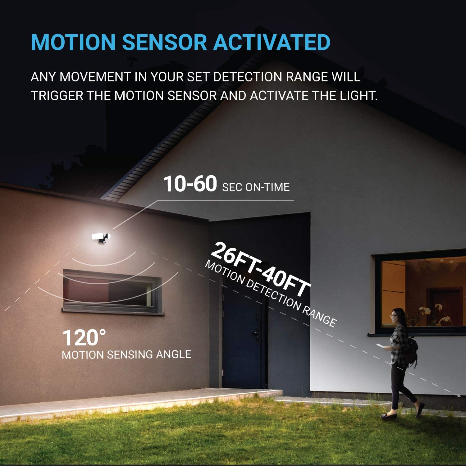 Motion Activated Outdoor Lighting